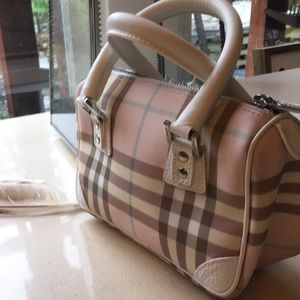Pink BURBERRY purse